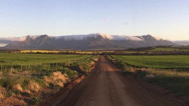 Paul O'Meehan's farm near Amelup, in WA's Great Southern region.