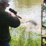 Texas mayor, 73, kills huge alligator she thinks ate her miniature horse