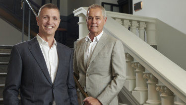 Hesperia founding directors Ben Lisle and Adrian Fini.