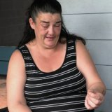 "Nursing her new engagement ring, a grief-stricken Ms Bell said ""Glen was just trying to help""."