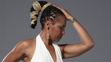 Lisa Simone performed only once with her mother, Nina.