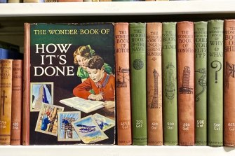 A collection of Wonder Books in the State Library of NSW's collection.