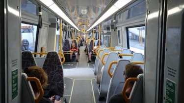 Only one of Queensland's 75 new trains has had the aisles widened and a second, larger toilet added for people in wheelchairs after seven months.