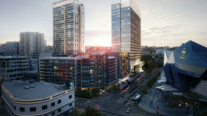 Towers, plaza, laneways planned in mega-upgrade for tired Perth city block