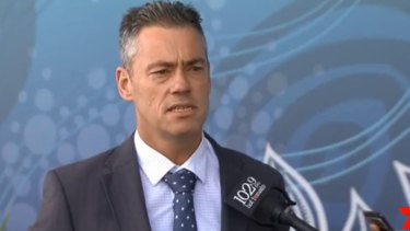 Detective Chief Inspector Brendon Cullen speaks about the investigation into the death of a nine-month-old girl, who was found on a Surfers Paradise Beach on November 19.