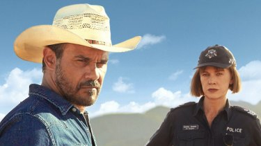 Both nominated for AACTA Awards: Aaron Pedersen and Judy Davis in Mystery Road.