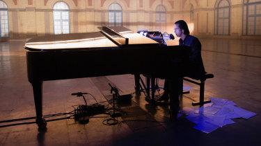 Nick Cave at London's Alexandra Palace. Idiot Prayer will screen in cinemas from November 5.