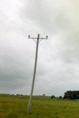 Pole No.4.