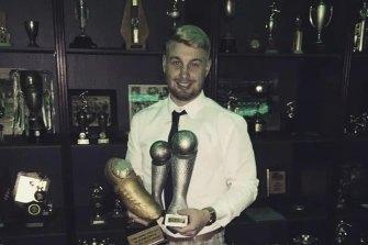 Danny Hodgson took home the Golden Boot last season.