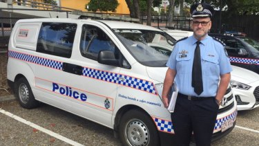 Brisbane Inner West Patrol Group Inspector Paul Fogg.