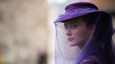 Mia Wasikowska as Emma Bovary in the Sophie Barthes film of Gustave Flauvbert's novel.