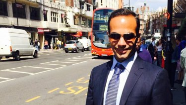 George Papadopoulos, a former foreign policy adviser to US president Donald Trump.
