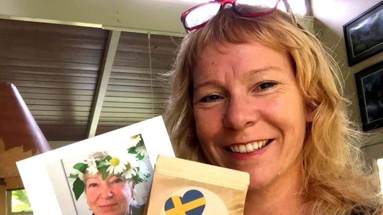 Helena Brandfors, who has had to evacuate her Hawaii home.