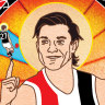It's been a big week in art ... AFL finals poster