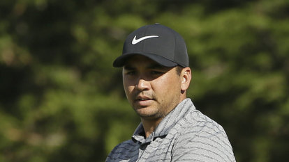 Heavy showers dampen promising charge by Jason Day