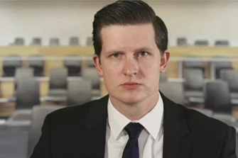 Former electorate office staffer Adam Sullivan gave evidence on the third day of the public IBAC hearing.