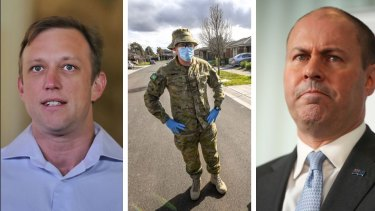 The fight over whether the ADF should still guard Queensland border checkpoints has escalated.