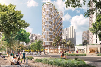 The Ivanhoe public housing estate is one project which will be fast-tracked.