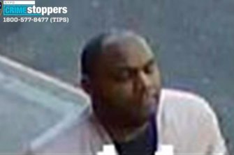 Police said Brandon Elliot, 38, was the man seen on video kicking and stomping on the woman in New York City.