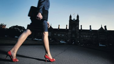 Women can pursue power, but many will do better tackling their finances - in sensible shoes.