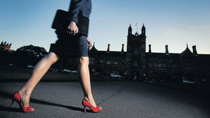 Flat chat: time may be up for high heels