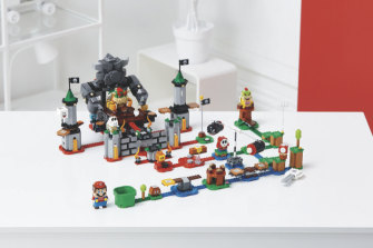 Expansions will range from the $30 Desert and Lava sets to this $150 Bowser's Castle boss battle.