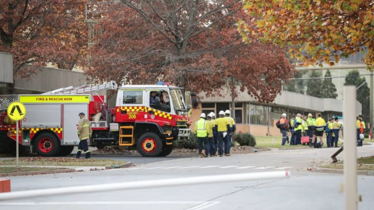 Two workers have died and one is fighting for life after a toxic gas leak at a paper mill in Albury on Thursday.