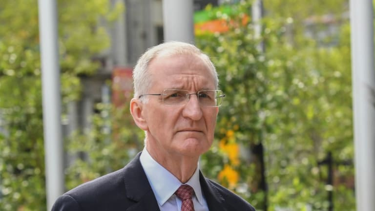 AMP acting chief executive Mike Wilkins appeared at the banking royal commission last week
