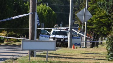 A critical incident investigation is underway after a man died and two police officers were shot at a property in Glen Innes.