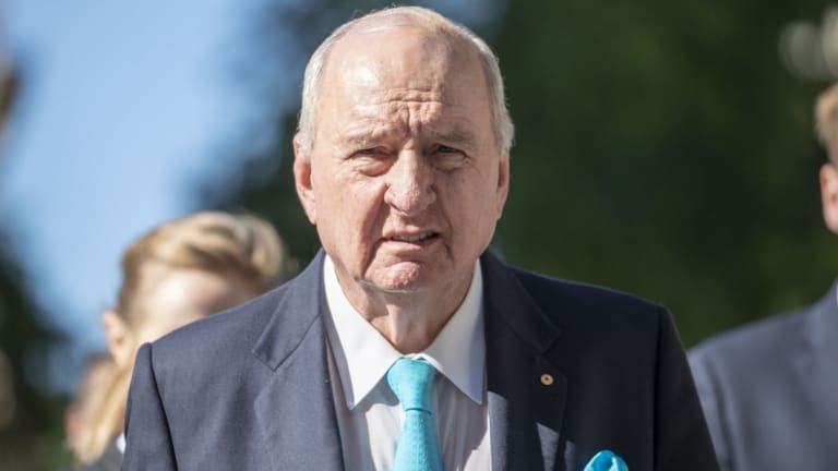 Alan Jones' lawyer argued he should not face a similar payout to the record $4.5 million originally awarded to defamed actress Rebel Wilson.