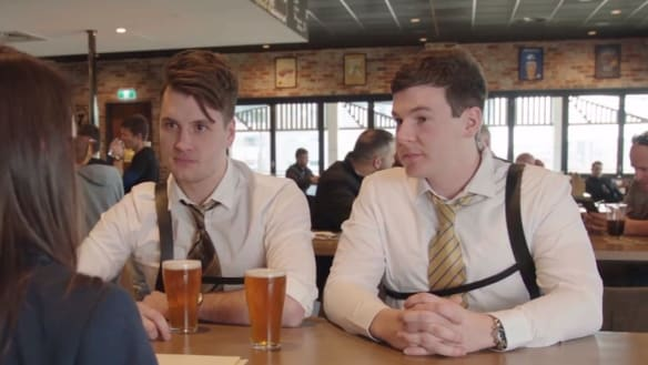 Hit 104.7's Ned and Josh make a movie for radio. And it's all Canberra