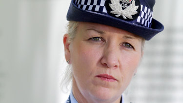 "Commissioner Katarina Carroll said Detective Inspector Mark Thompson was ""gutted about what was said""."