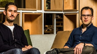 Instagram's founders, Kevin Systrom, left, and Mike Krieger, said they planned to take time off after leaving the company.