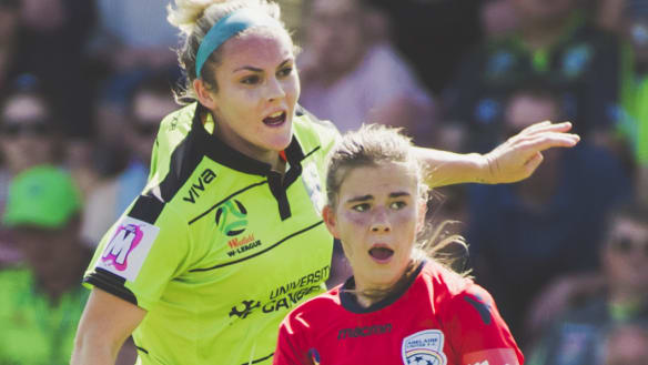 Canberra United keep season alive with 1-0 win against Adelaide United