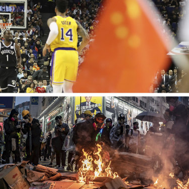 Hong Kong's pro-democracy protests have created a PR minefield for China-embedded brands and businesses, such as the NBA.