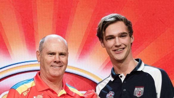 Hawk Scrimshaw hopes for change of fortune after Gold Coast struggles