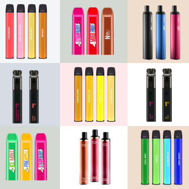 Disposable flavoured vapes from HQD and IGET available in Australia.