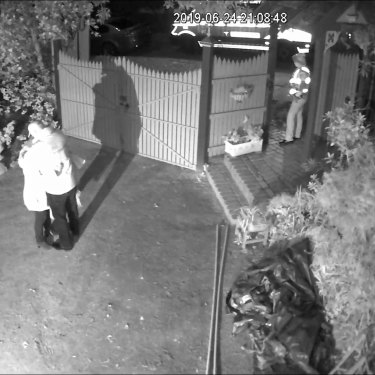The final still from Danny Richards' CCTV footage