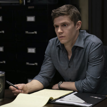 Evan Peters is the beating romantic heart of Mare of Easttown.