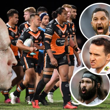 Michael Maguire and the Wests Tigers.