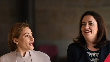 Premier Annastacia Palaszczuk says Jackie Trad will remain as Treasurer.