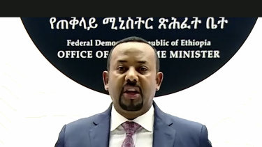 Ethiopian Prime Minister Abiy Ahmed has ordered air strikes in the Tigray region.