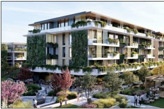 Plans for the Castle Hill RSL site show 321 units plus a 90-bed residential aged care development.
