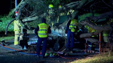 Emergency services attended the scene of the incident in Katoomba on Thursday evening.