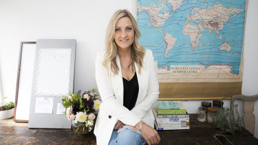 Deb Schultz is the founder of Justice Denim.