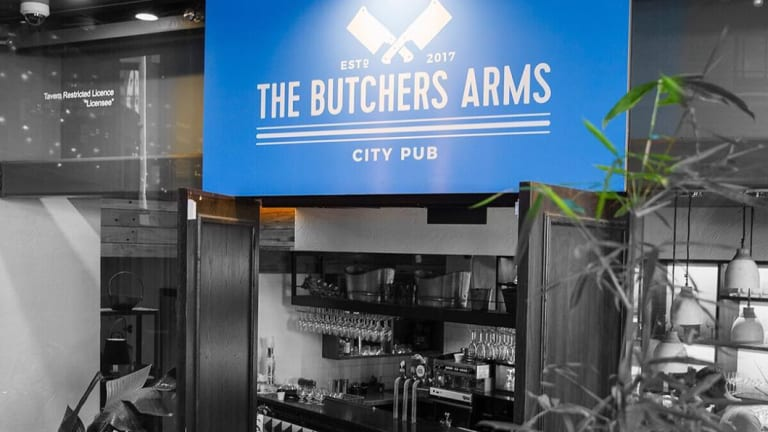 It's business as usual at The Butcher's Arms according to owner, Scott Taylor.