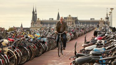 Will Melbourne end up giving over space for a bike park station like this one in Amsterdam?