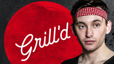 Grill'd worker Patrick Stevenson says he had to agree to a traineeship to get a job.