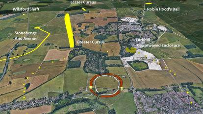 Prehistoric stone circle 4500-years-old found near Stonehenge