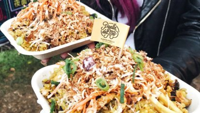 Paella with Asian twist to entice foodies at Brisbane noodle markets